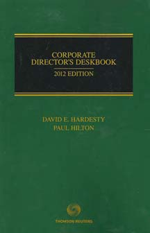 Corporate Director's Deskbook
